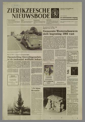 Zierikzeesche Nieuwsbode 1983-12-20