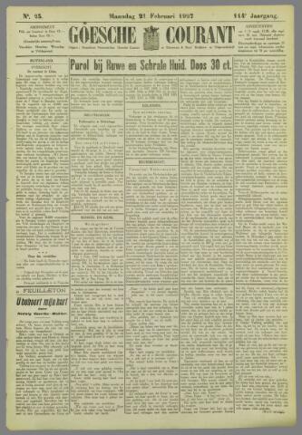 Goessche Courant 1927-02-21