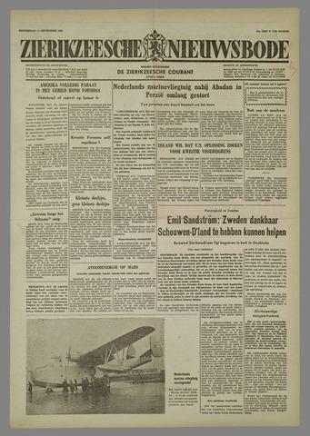 Zierikzeesche Nieuwsbode 1958-09-11