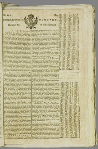 Middelburgsche Courant 1809-11-11