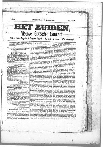 Nieuwe Goessche Courant 1880-11-11