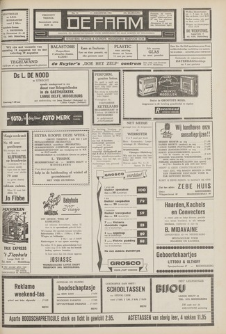de Faam en de Faam/de Vlissinger 1961-08-11