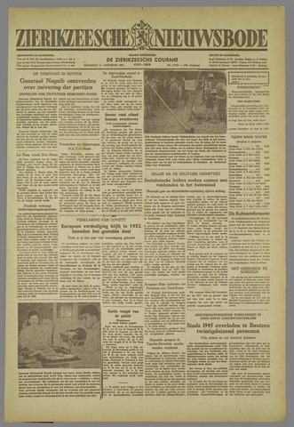 Zierikzeesche Nieuwsbode 1952-08-11