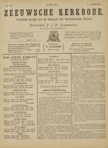 Zeeuwsche kerkbode, weekblad gewijd aan de belangen der gereformeerde kerken/ Zeeuwsch kerkblad 1889-06-29