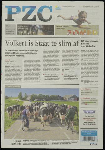 Provinciale Zeeuwse Courant 2014-07-31
