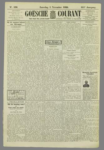 Goessche Courant 1924-11-01