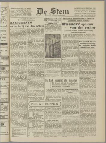 de Stem 1946-02-21