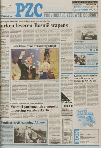 Provinciale Zeeuwse Courant 1992-08-22