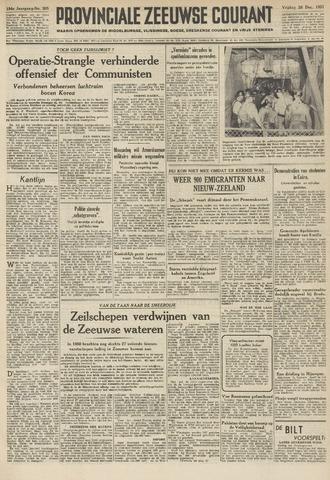 Provinciale Zeeuwse Courant 1951-12-28