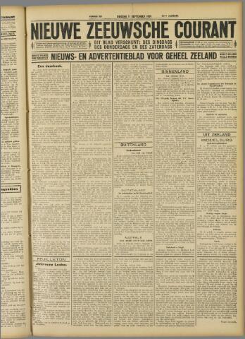 Nieuwe Zeeuwsche Courant 1928-09-11