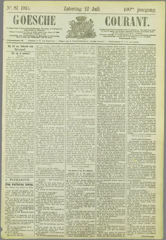 Goessche Courant 1913-07-12
