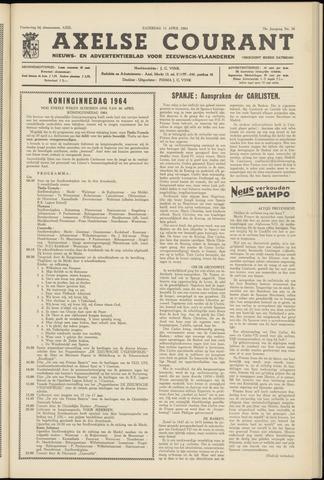 Axelsche Courant 1964-04-11