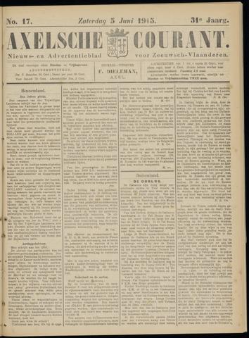 Axelsche Courant 1915-06-05