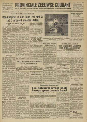 Provinciale Zeeuwse Courant 1951-02-23