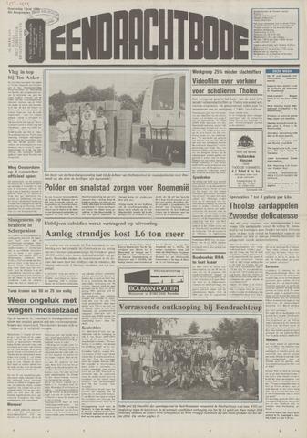 Eendrachtbode (1945-heden)/Mededeelingenblad voor het eiland Tholen (1944/45) 1989-06-01