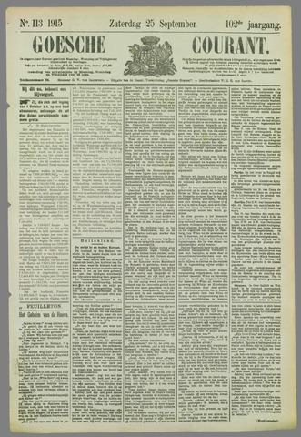 Goessche Courant 1915-09-25
