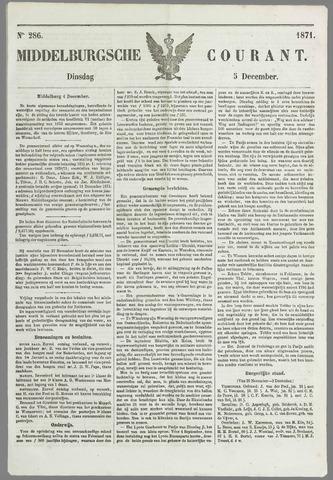 Middelburgsche Courant 1871-12-05