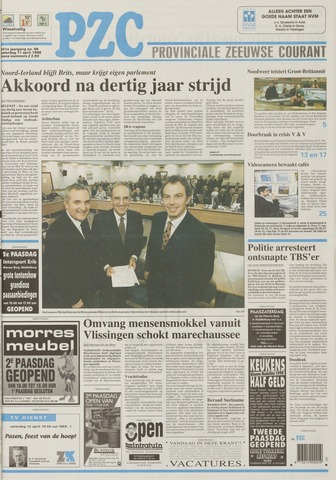 Provinciale Zeeuwse Courant 1998-04-11