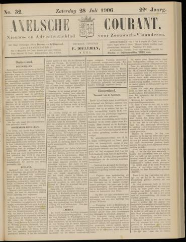 Axelsche Courant 1906-07-28