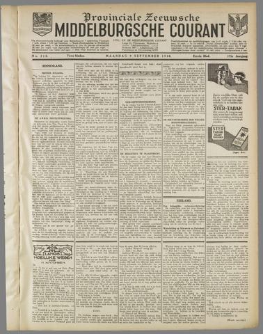 Middelburgsche Courant 1930-09-08
