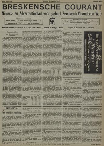 Breskensche Courant 1937-08-03