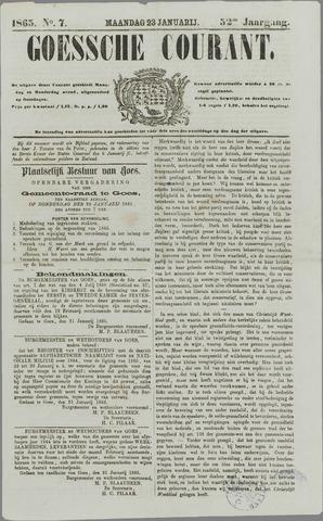 Goessche Courant 1865-01-23