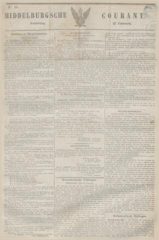 Middelburgsche Courant 1851-02-27