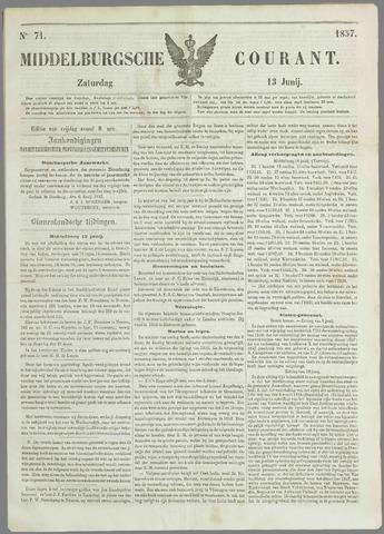 Middelburgsche Courant 1857-06-13
