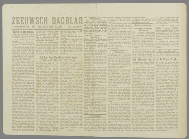Zeeuwsch Dagblad 1945-07-02