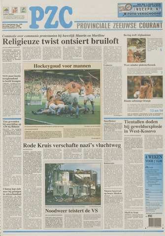 Provinciale Zeeuwse Courant 1998-06-02