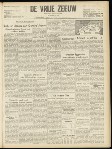 de Vrije Zeeuw 1955-08-20