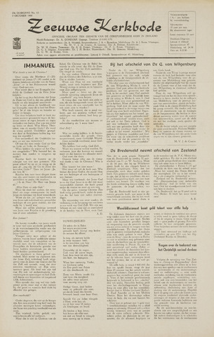 Zeeuwsche kerkbode, weekblad gewijd aan de belangen der gereformeerde kerken/ Zeeuwsch kerkblad 1968-10-03