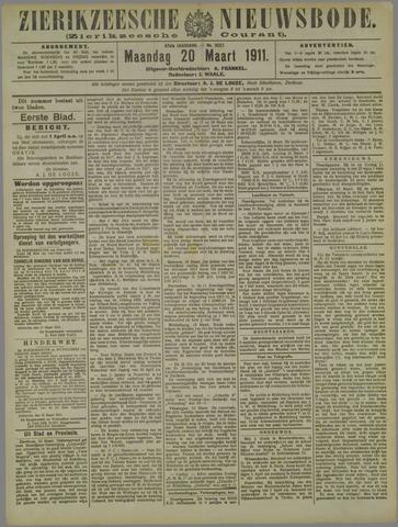 Zierikzeesche Nieuwsbode 1911-03-20