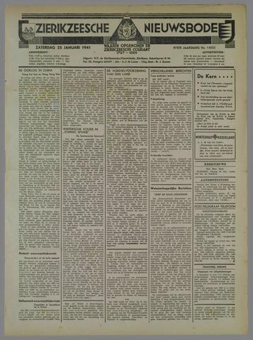 Zierikzeesche Nieuwsbode 1941-01-25