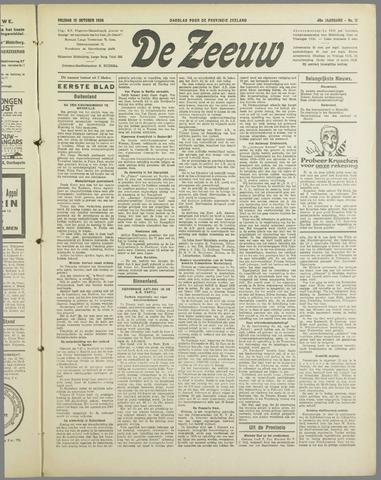 De Zeeuw. Christelijk-historisch nieuwsblad voor Zeeland 1934-10-12