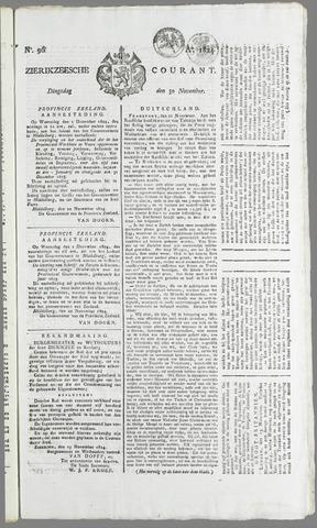 Zierikzeesche Courant 1824-11-30