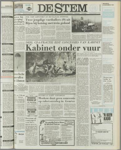 de Stem 1983-11-21