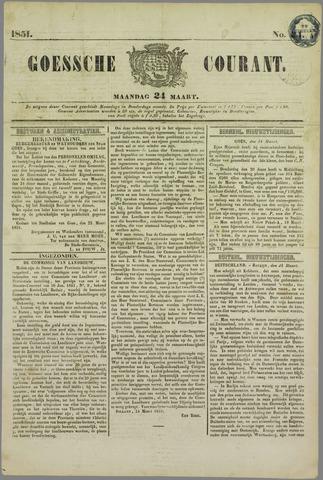 Goessche Courant 1851-03-24