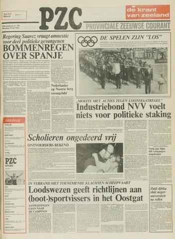 Provinciale Zeeuwse Courant 1976-07-19