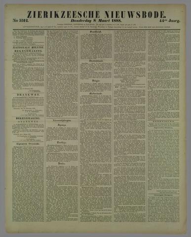 Zierikzeesche Nieuwsbode 1888-03-08