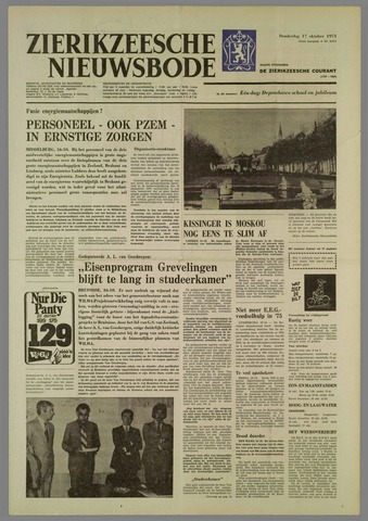 Zierikzeesche Nieuwsbode 1974-10-17