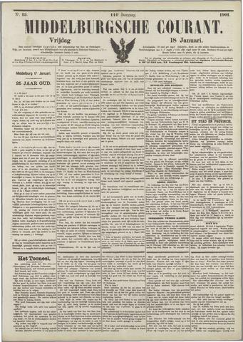 Middelburgsche Courant 1901-01-18