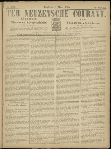 Ter Neuzensche Courant. Algemeen Nieuws- en Advertentieblad voor Zeeuwsch-Vlaanderen / Neuzensche Courant ... (idem) / (Algemeen) nieuws en advertentieblad voor Zeeuwsch-Vlaanderen 1895-03-07