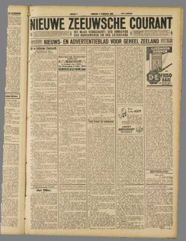 Nieuwe Zeeuwsche Courant 1929-02-05