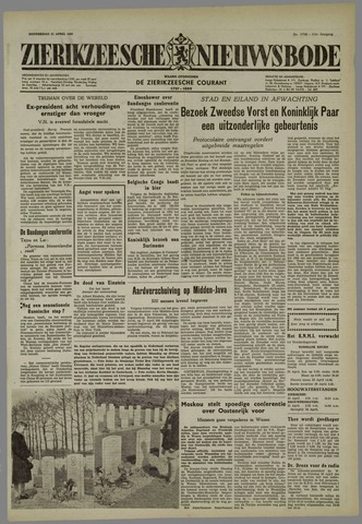 Zierikzeesche Nieuwsbode 1955-04-21