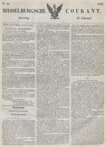 Middelburgsche Courant 1867-02-23