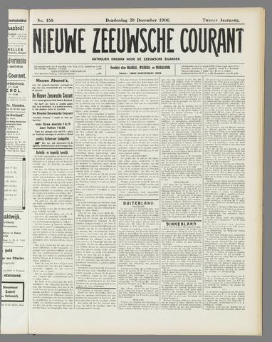 Nieuwe Zeeuwsche Courant 1906-12-20