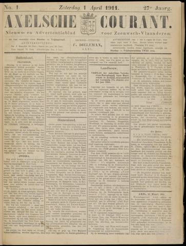 Axelsche Courant 1911-04-01