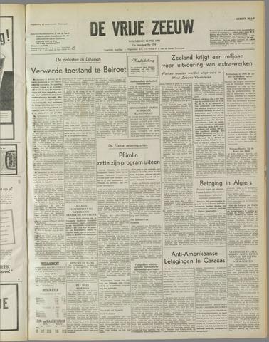 de Vrije Zeeuw 1958-05-14
