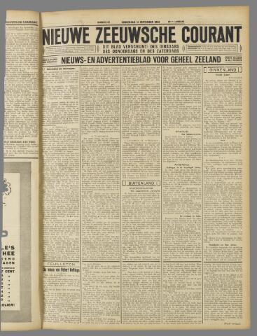 Nieuwe Zeeuwsche Courant 1933-09-14
